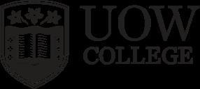 UOW College Shorthand Landscape - Black